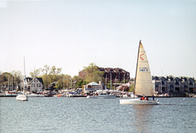 [color photograph of Annapolis waterfront]